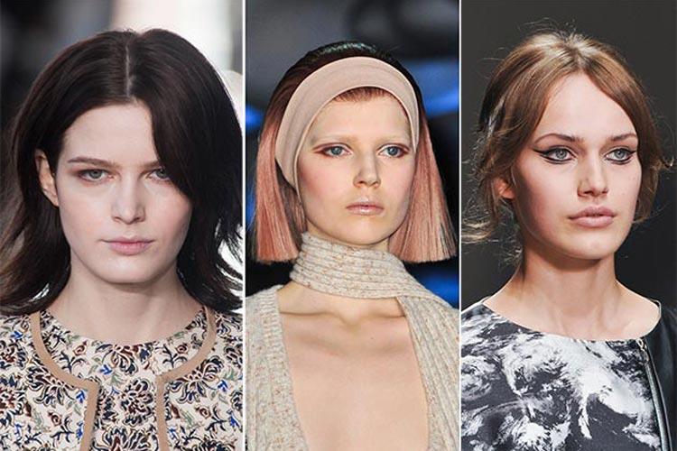 Trendy účesy zima 2015 – Stylizovaný bob jako polodlouhý účes
