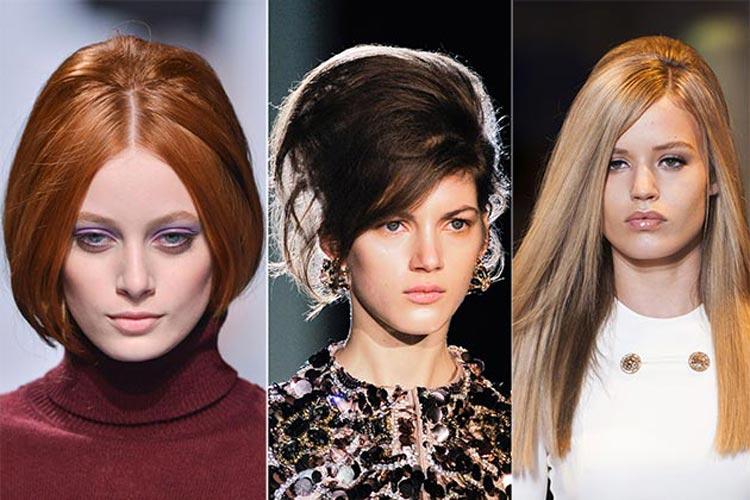 Trendy účesy zima 2015 – Mohutné vlasy