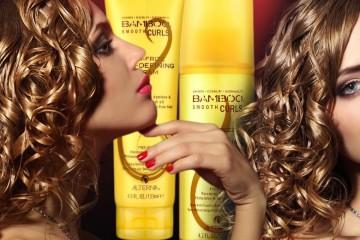 Vlasová kosmetika Alterna a její řada Bamboo Smooth přináší dva nové produkty pro vlnité a kudrnaté vlasy. I vaše vlasy teď mohou být jako hedvábí!
