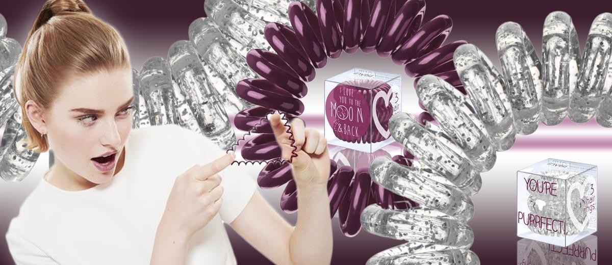 Oblíbily jste si revoluční gumičky do vlasů Invisibobble? Právě teď přichází ve zcela nových odstínech v kolekci nazvané Invisibobble Sweetheart.