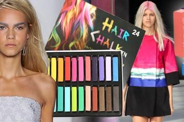 Křídy na vlasy mají pro rok 2015 nová pravidla. Podívejte se, jak je aplikovat podle posledních módních trendů. Móda opět mění pravidla!