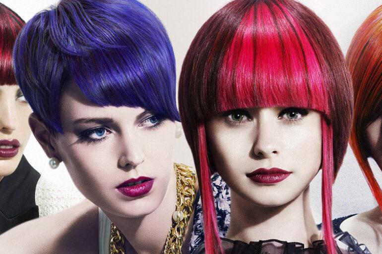 Chcete oživit svůj účes? Vsaďte na melírované vlasy a módní barvy 2015. Úchvatné účesy v galerii jsou tentokrát z britské kolekce Rae Palmer.