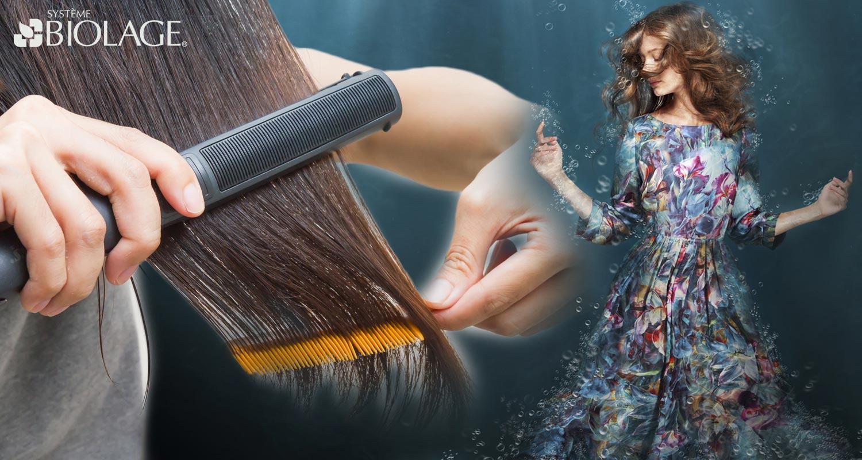 Biolage kauterizace obnoví vaše vlasy na molekulární úrovni! Tuto speciální službu hloubkové regenerace poskytují salony Matrix.