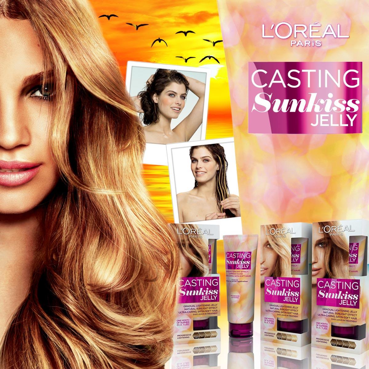 První jarní den 2015 – zesvětlující gel na vlasy SunKiss Jelly od L'Oréal Paris