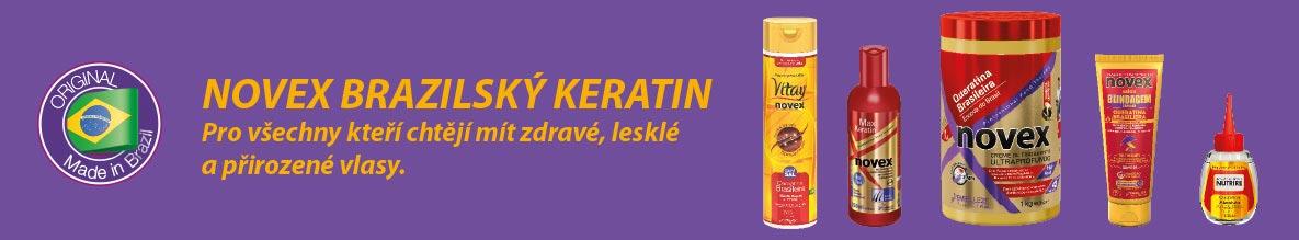 Rozsáhlá keratinová řada s brazilským keratinem Novex je pro každého, kdo potřebuje svým vlasům pomoci k zdravému vzhledu, lesku a přirozenému vzhledu. Koupíte ji v e-shopu s kadeřnickými potřebami Moderni-vlasy.cz.
