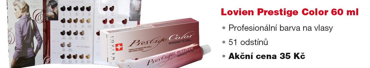 Barvy na vlasy Prestige Color nabízí rozmanitou paletu odstínů a lze je použít profesionálně v kadeřnickém salonu, ale také doma. Koupíte je v e-shopu s kadeřnickými potřebami Moderni-vlasy.cz.