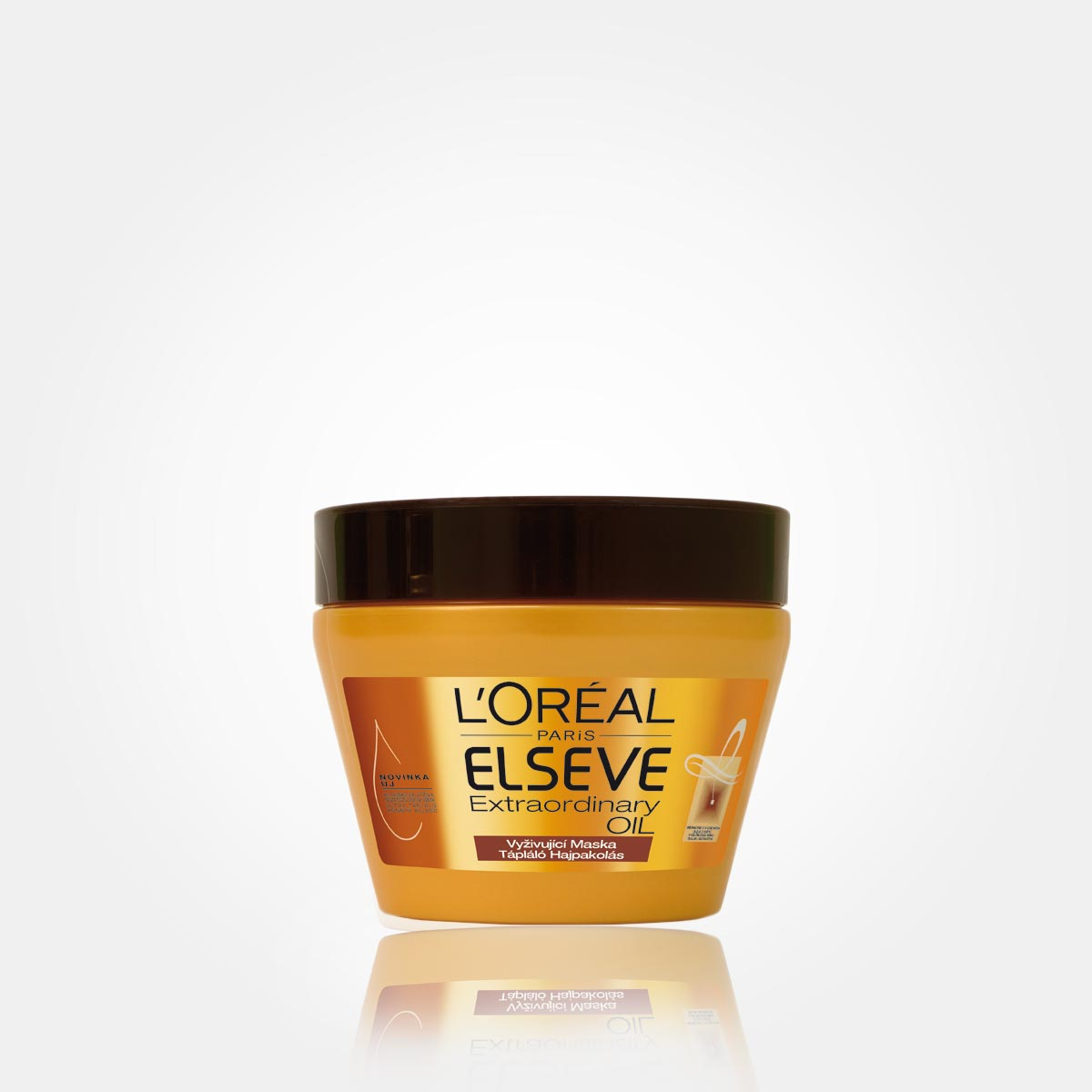 Vyživující maska – L'Oreal Elseve Extraordinary Oil