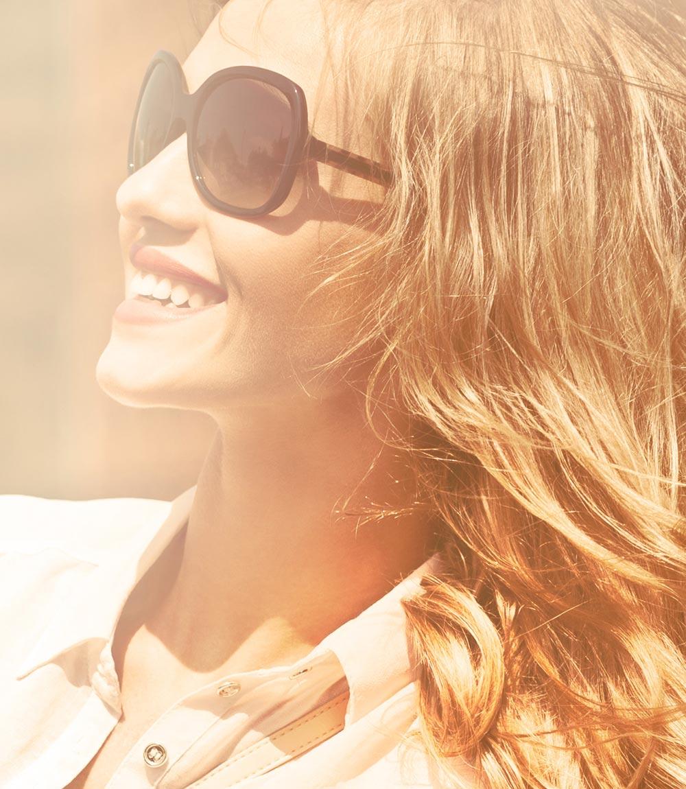 Nový look pro vlasy 2015 jako políbené sluncem