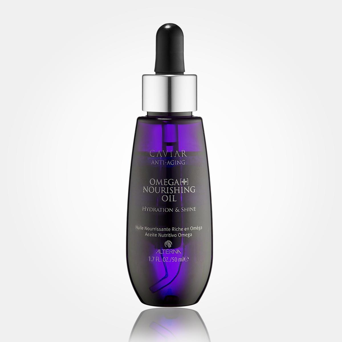 Vlny ve vlasech – místo tradičního stylingu použijte v Alterna Caviar Anti-Aging Omega+ Nourishing Oil.