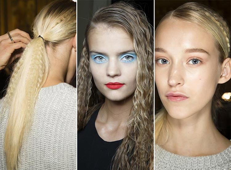 Trendy účesy jaro/léto 2015: Vzkříšení krepovačky na vlasy.