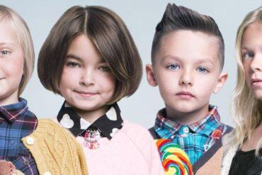 Nové dětské účesy pro Bomton má na svědomí Tereza Nová. Její juniorská kolekce dostala název Nativity a najdete v ní účesy pro kluky i pro holčičky.