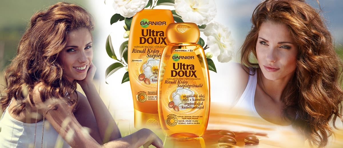 Garnier představuje nový šampon a balzám Ultra Doux Marvelous postaven na účincích vzácných olejů. Krásu vlasům dodá arganový a kaméliový olej.