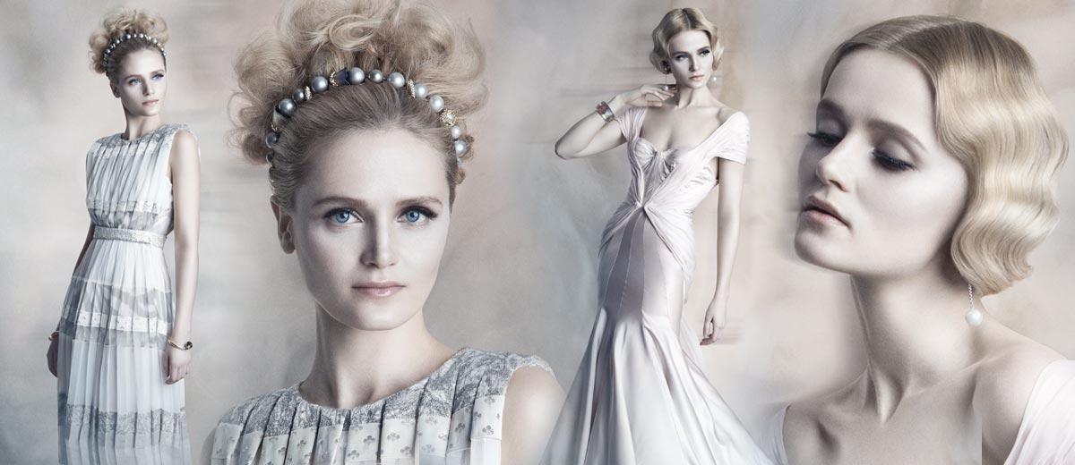 Zajímají vás nové tipy na svatební účesy? Svatba 2015 fandí vintage stylu, květinovým ozvěnám 60. a 70. let a stále platí – zaplétat, zaplétat, zaplétat!