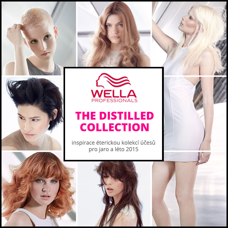 Wella účesy jaro/léto 2015: The Distilled Collection