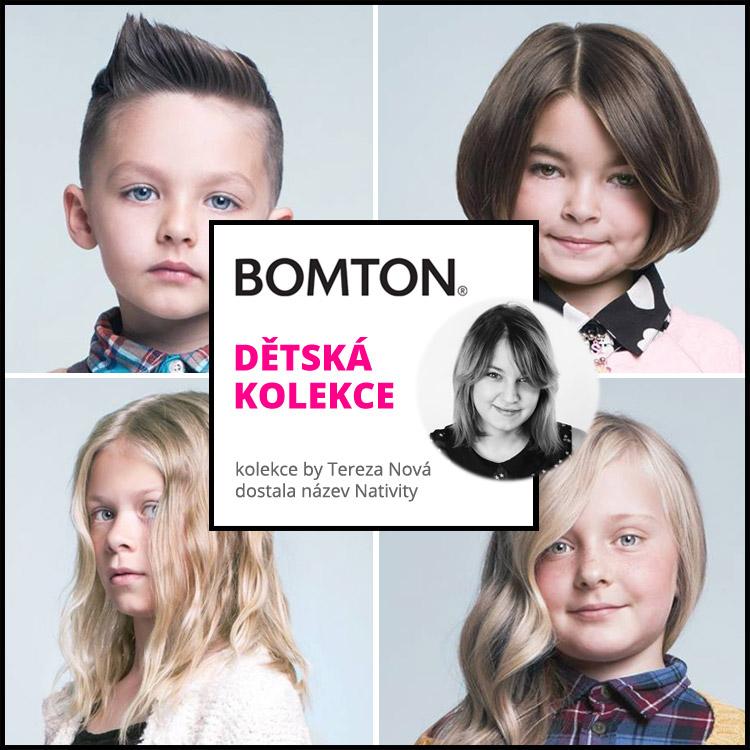 Dětská kolekce účesů 2015 Terezy Nové pro Bomton – Nativiti.
