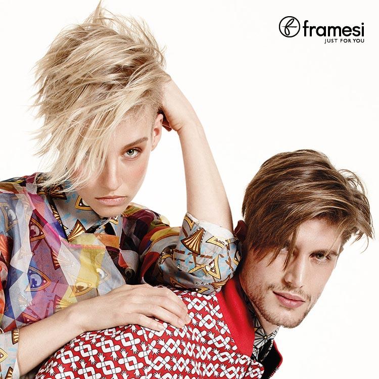 Módní trendy pro jaro 2015 podle Framesi: móda vs. účesy jako mix stylů!