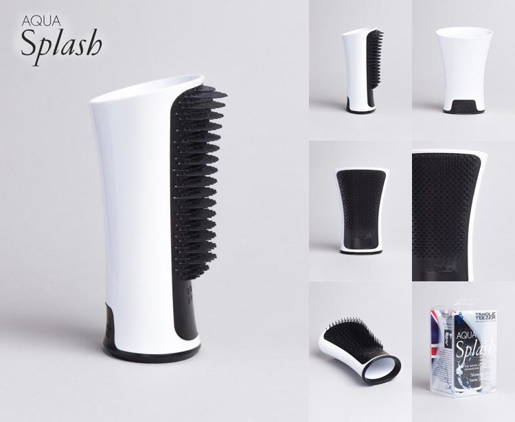 Tangle Teezer Aqua Splash pro mokré vlasy umí dobu sušení vlasů zkrátit až o 50 %.