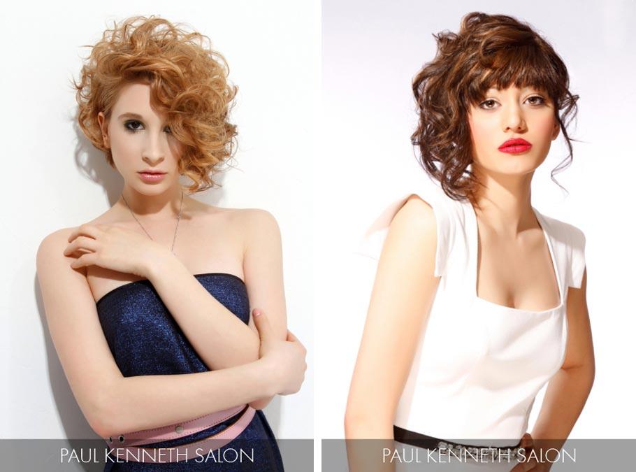 Účesy pro polodlouhé vlasy jaro/léto 2015 – trendy 2015 fandí asymetrii a falešně krátkým vlasům.