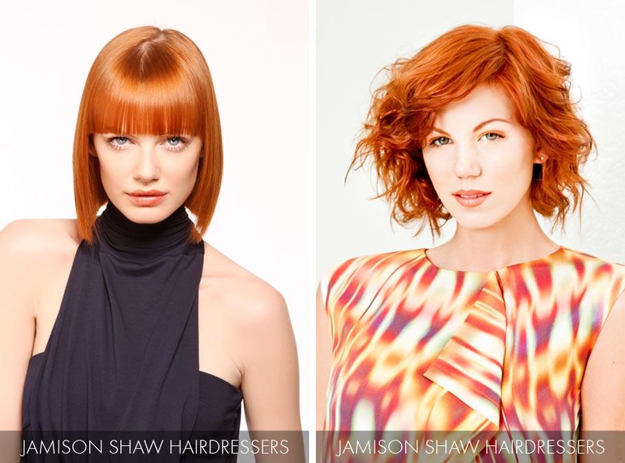 Účesy pro polodlouhé vlasy jaro/léto 2015 – dodejte si odvahu být vidět a vsaďte na měděnou barvu vlasů!