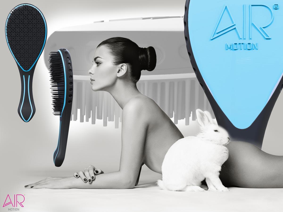 Značka AirMotion představuje nový kartáč na vlasy AirMotion Super-Soft vytvořený speciálně pro jemné a prodloužené vlasy.