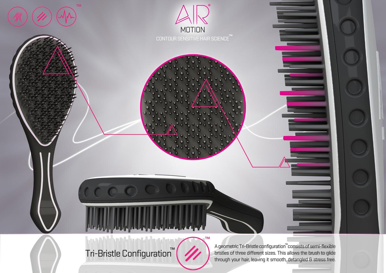 Kartáč na vlasy AirMotion – podívejte se, čím se liší od běžných kartáčů.