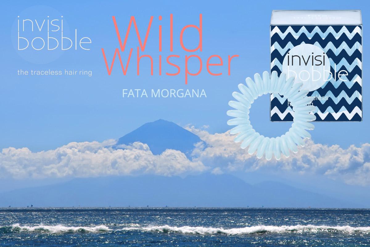 Fata Morgana – Invisibobble gumičky Wild Whisper – limitovaná kolekce 2015 ve světlé modré barvě