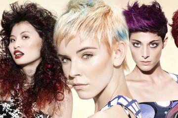 Barvy léta 2015 pro vlasy a účesy, na které s teď podíváme, inspiroval velikán pop-artu, Andy Warhol. Za Grapix Collexion stojí designér Pino Troncone.