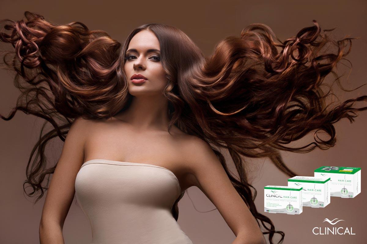Správná vnitřní vlasová výživa ovlivňuje zdraví i krásu našich vlasů.