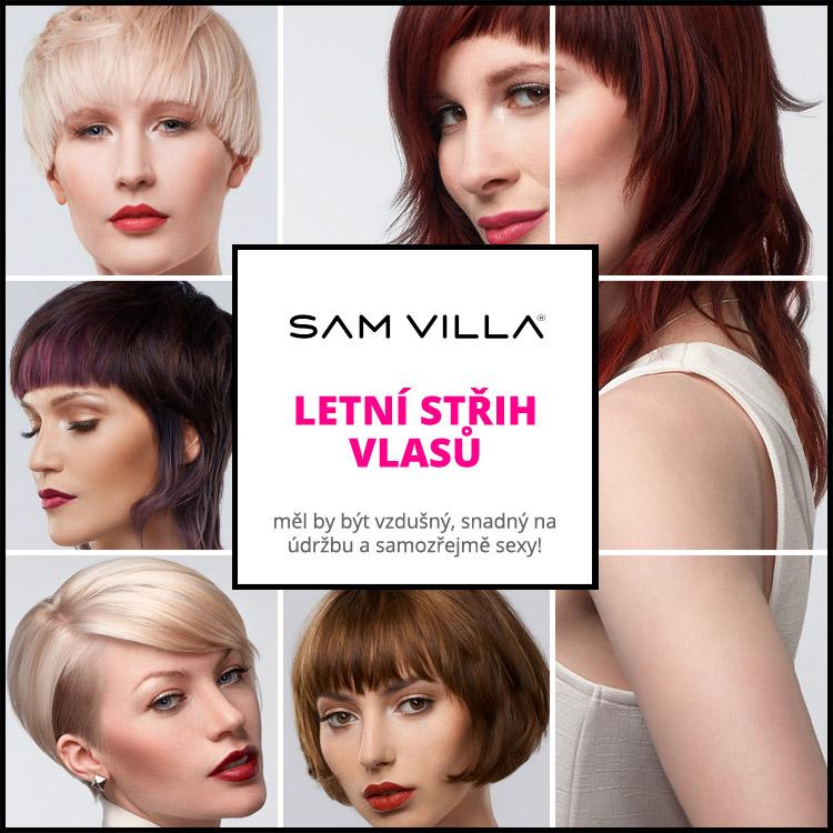 Střihy vlasů pro léto 2015 – inspirujte se kolekcí účesů Sam Villa.