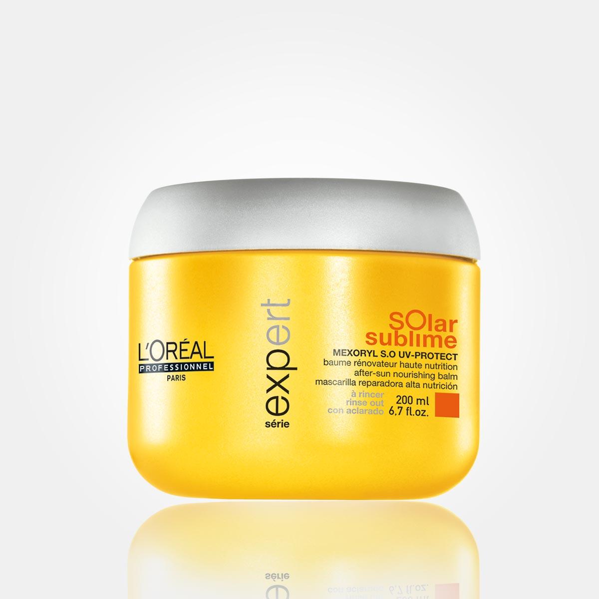 Maska ze speciální řady letní vlasové kosmetiky Solar Sublime od L'Oréal Professionnel
