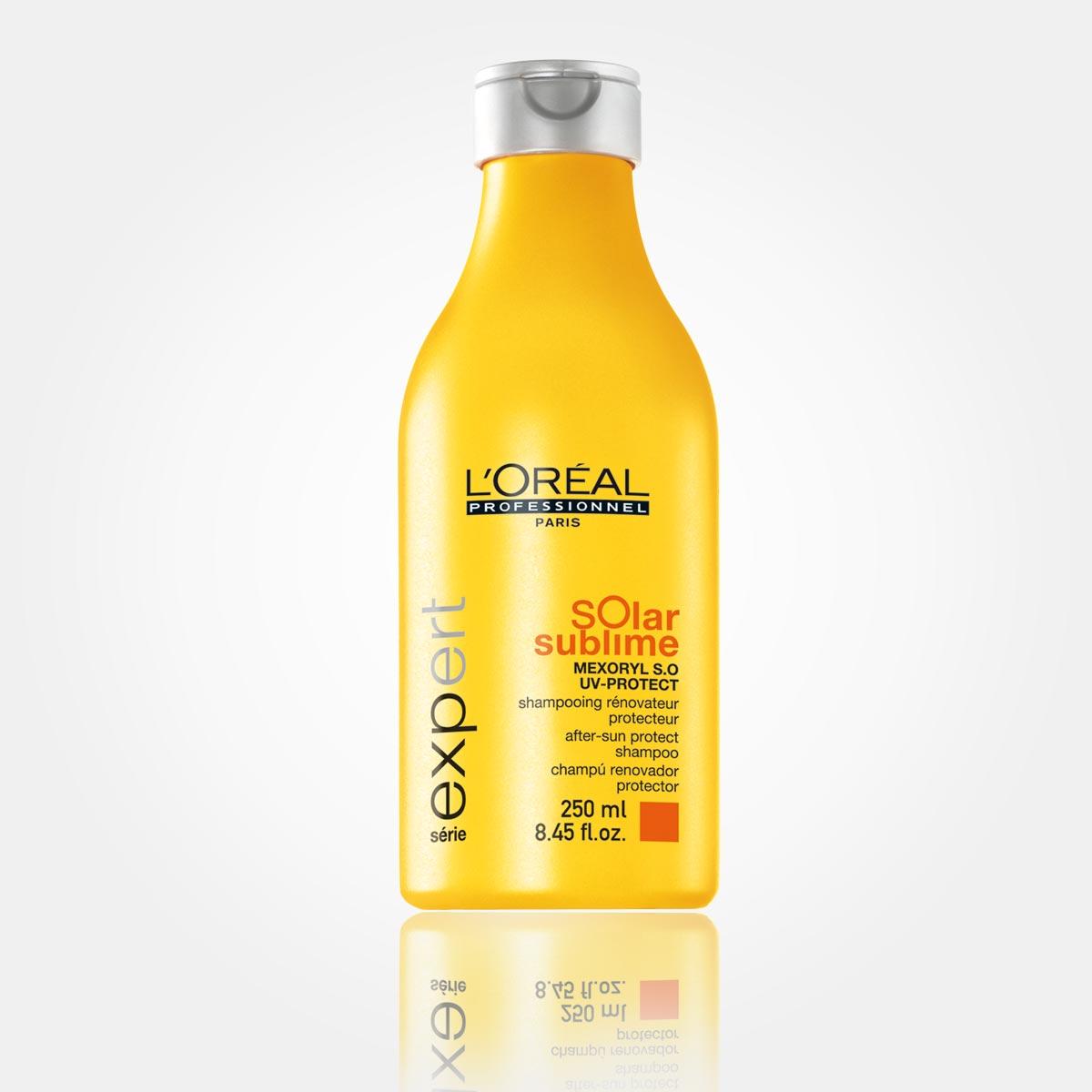 Ochranný sprej ze speciální řady letní vlasové kosmetiky Solar Sublime od L'Oréal Professionnel