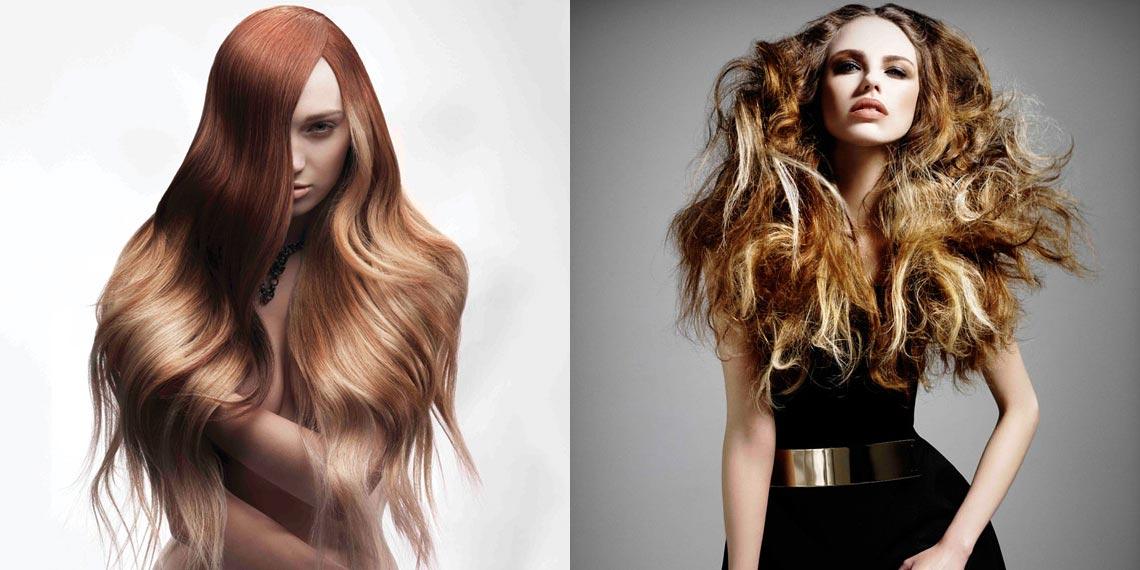 Pomozte přírodnímu vzhledu ke kráse – extravagance účesů pro dlouhé vlasy od kadeřníků Rush tentokrát spočívá v drzé nenápadnosti.