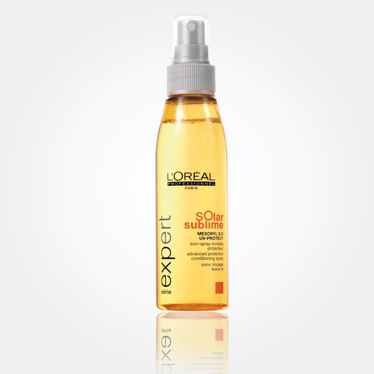Šampon ze speciální řady letní vlasové kosmetiky Solar Sublime od L'Oréal Professionnel