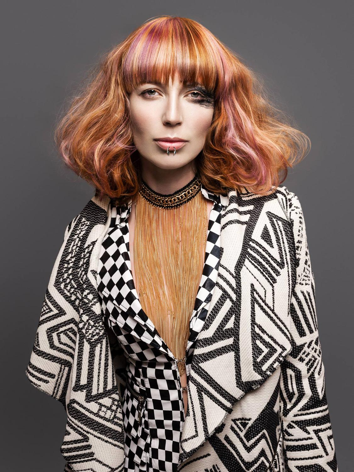 Vladimíra Konopáčová, Salon TOP, Třebíč – nominace v soutěžní kategorii Color Zoom Collection 2015 GLOBAL CREATIVE COLORIST.