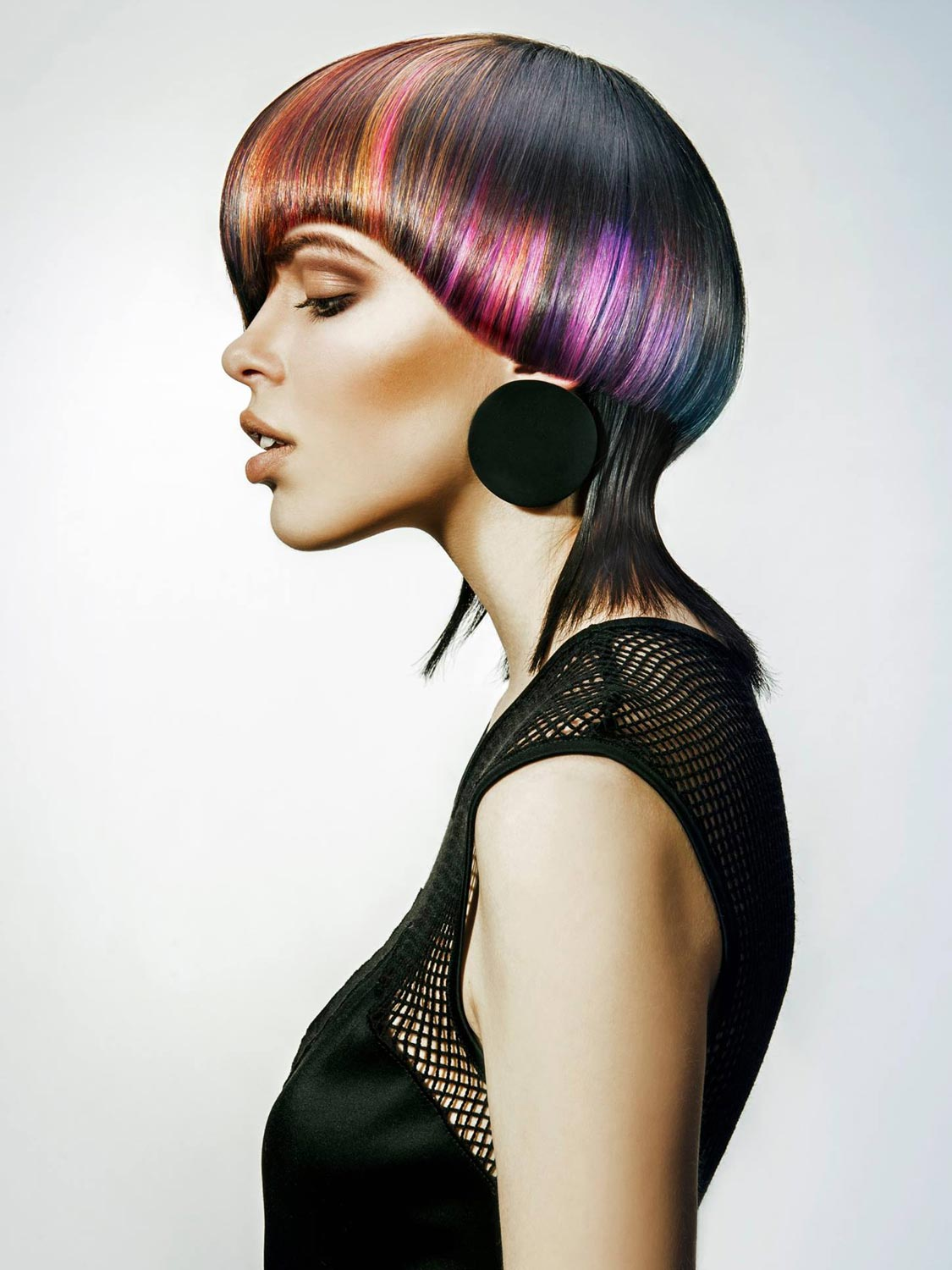 Lucie Jirkalová-Wenzlová, Salon FAME, Praha – nominace v soutěžní kategorii Color Zoom Collection 2015 GLOBAL CREATIVE COLORIST.