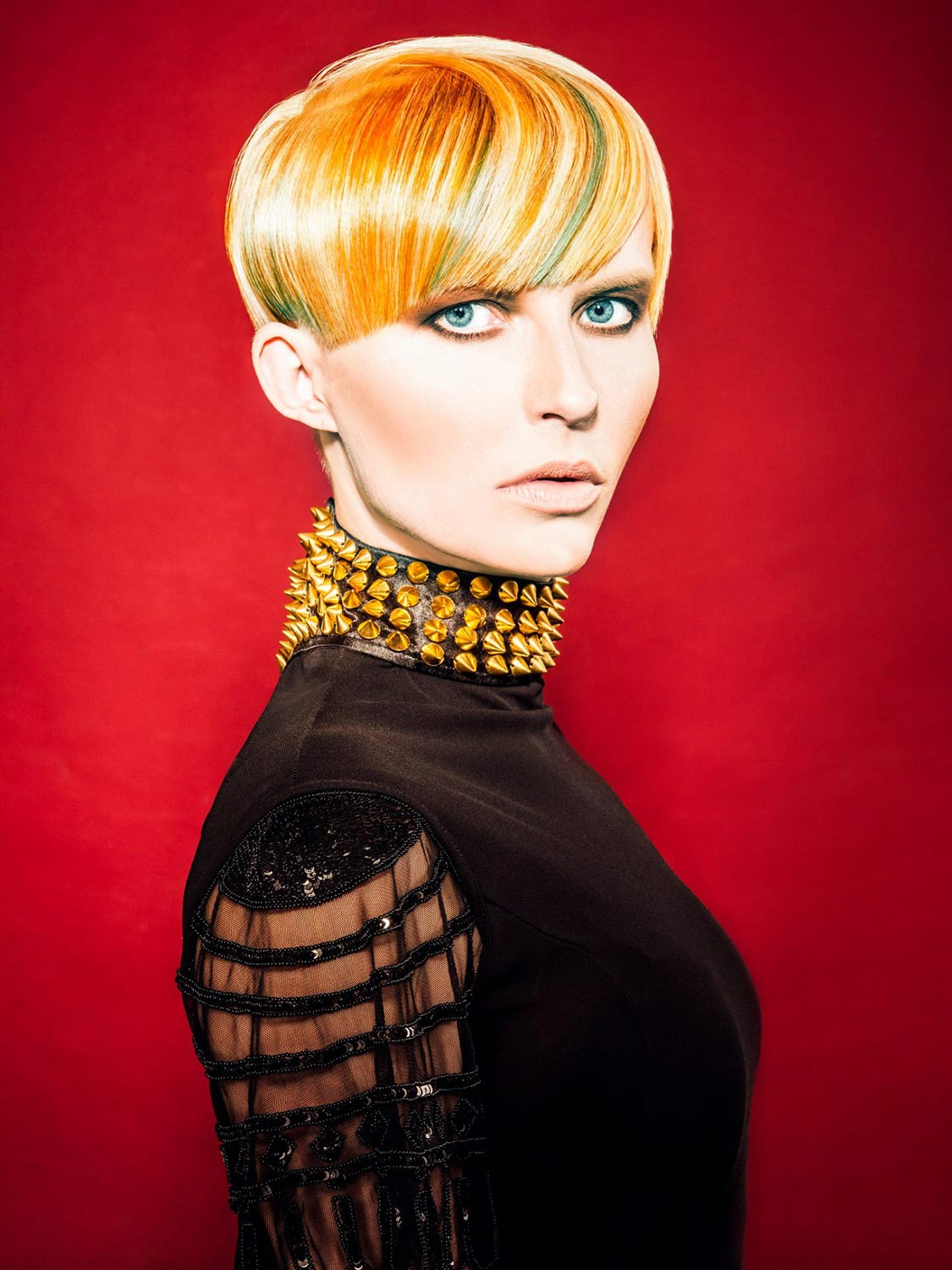 Michal Macálka, Vlasový ateliér Dana Jirecová, České Budějovice – nominace v soutěžní kategorii Color Zoom Collection 2015 GLOBAL NEW TALENT COLORIST.