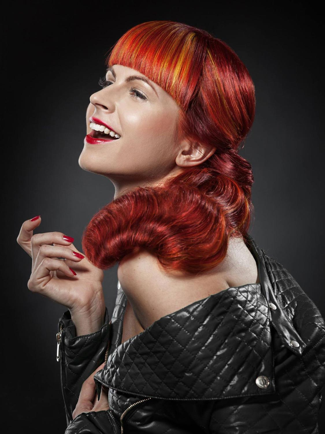 Petra Sedláková, salon La Donna Magica, Brno – nominace v soutěžní kategorii Color Zoom Collection 2015 GLOBAL PARTNER COLORIST.