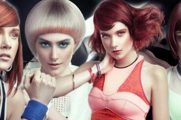 Červená barva na vlasy vás v účesech, které vám nyní představím, rozhodně překvapí. Není agresivní, je extra módní a dovolit si ji mohou i blondýnky.