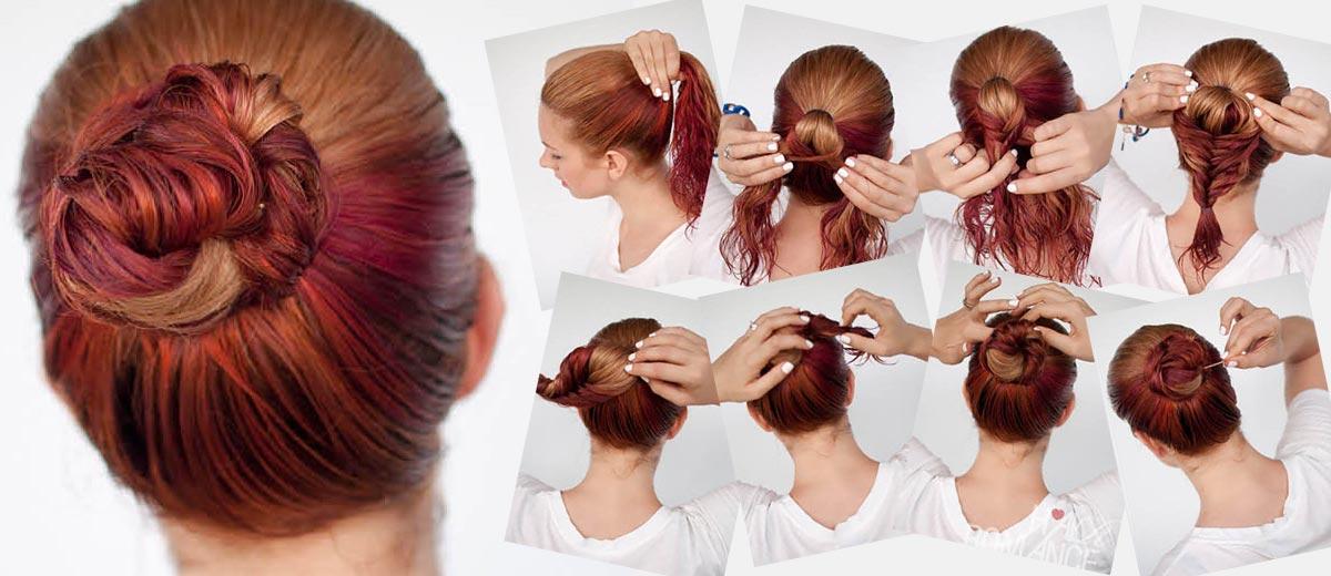 jednoduché účesy pro polodlouhé vlasy návod