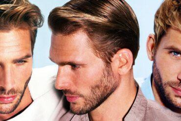 Jeden pánský střih a tři různé pánské účesy – rozdílný styling dobře střižených vlasů vám umožní měnit účes bez nové návštěvy kadeřníka či holiče!