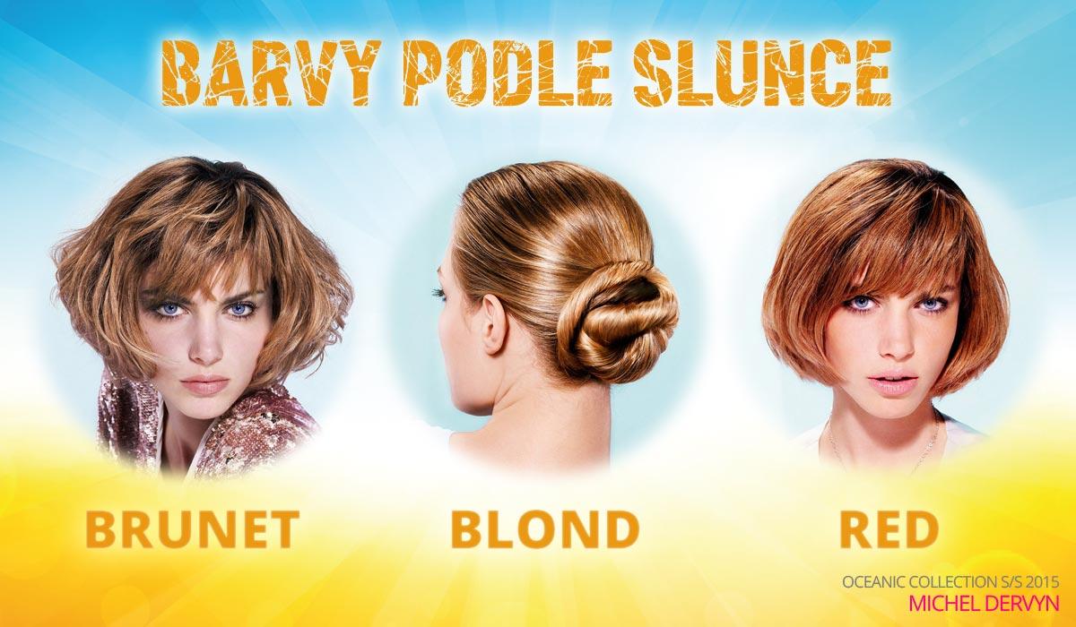 Barvy podle slunce – blond, brunet nebo červené vlasy?