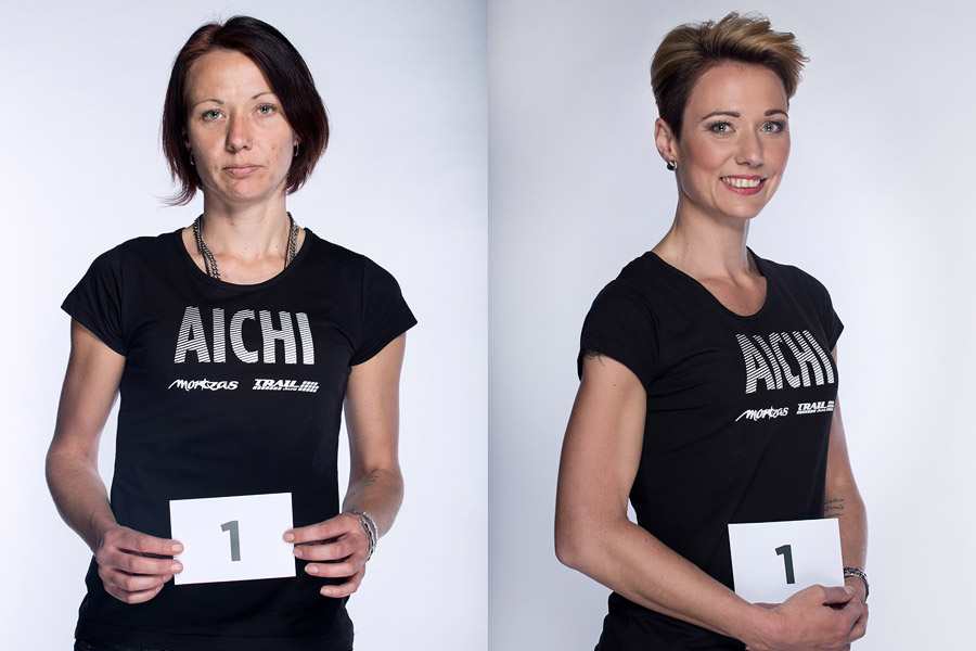 Proměny AICHI 2015 (13. ročník) – Martina Odstrčilová, Studio Marteena, Šumperk (proměna 1)