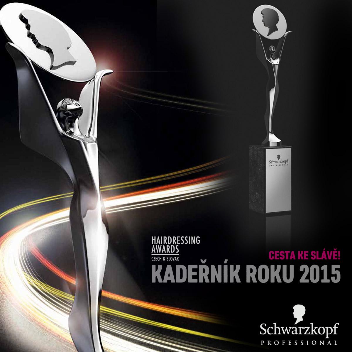 Cena Czech and Slovak Hairdressing Awards – kdo ji získá za rok 2015?