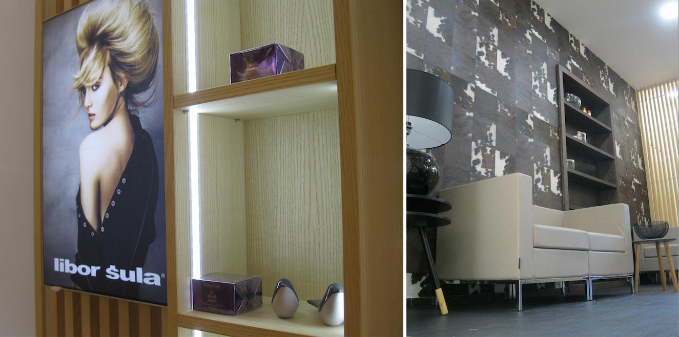 Libor Šula The Salon v Plzni – ke skvělým službám nabídne i příjemný a designový interiér.