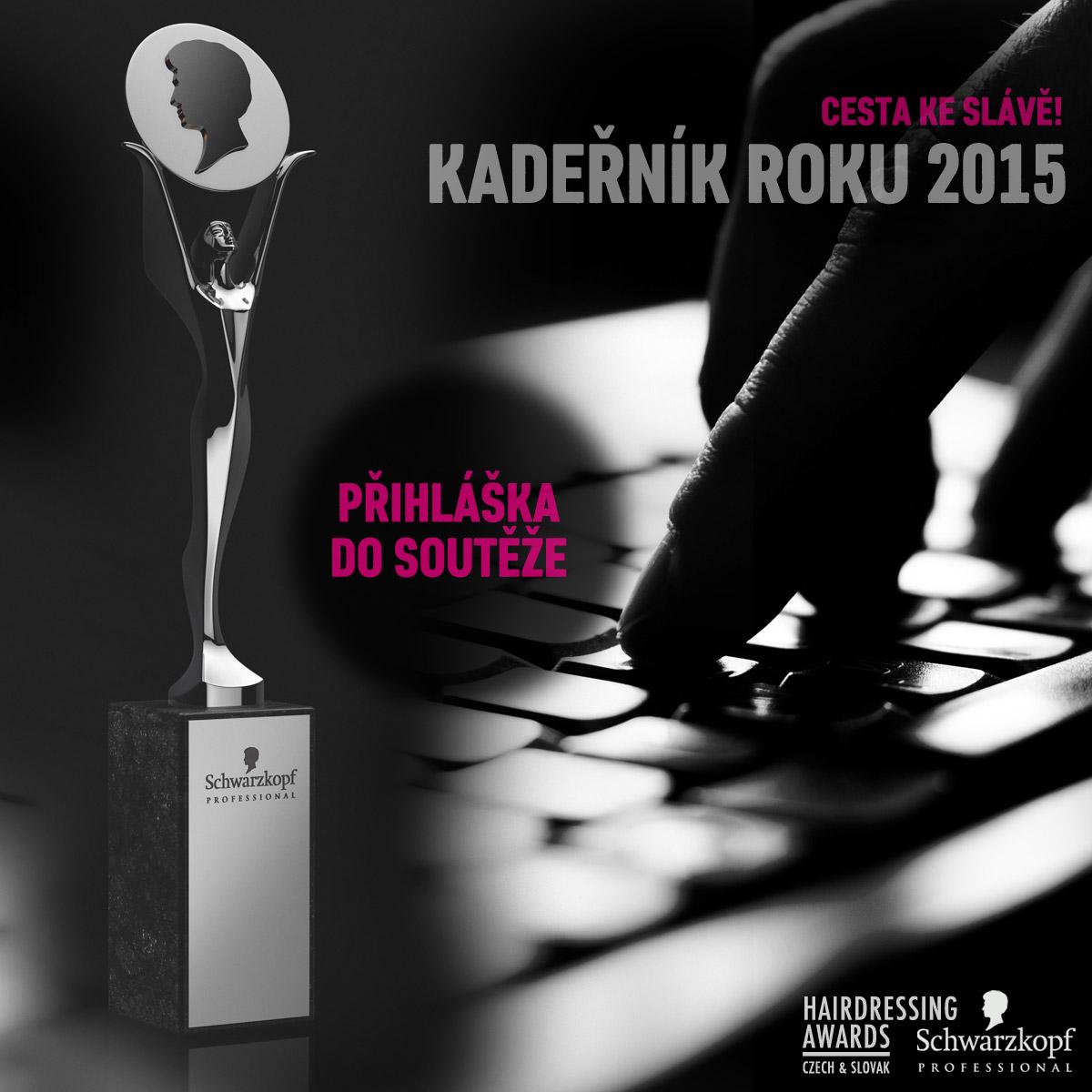 Kadeřník roku 2015 – přihlaste se do soutěže!