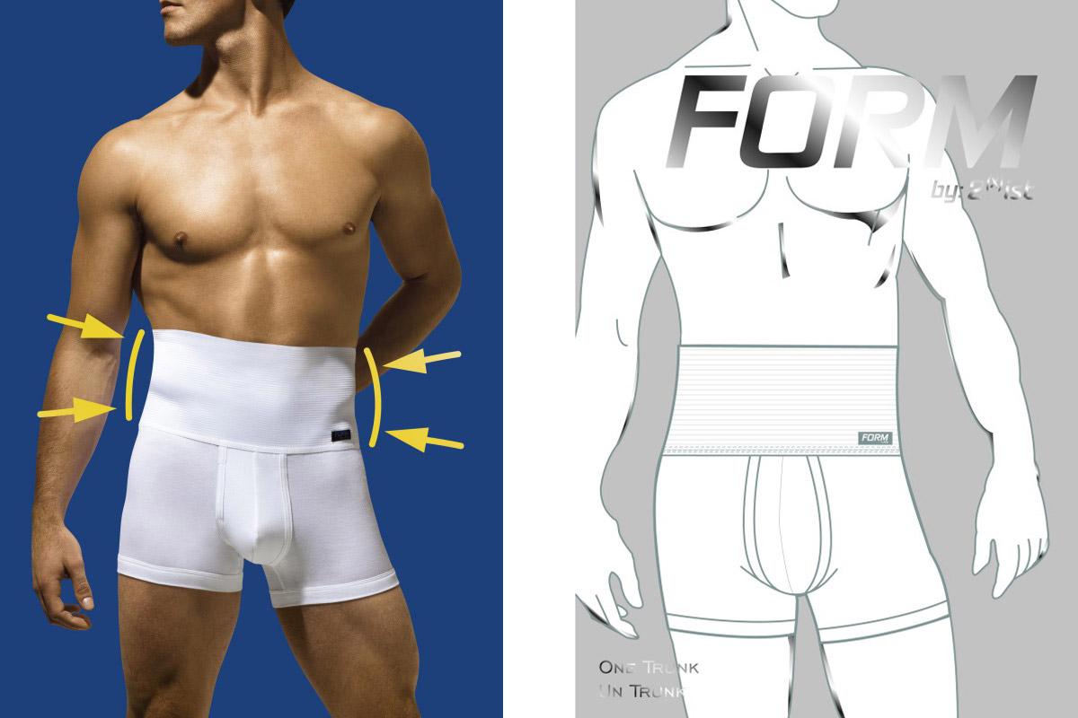 I muži mají své stahovací prádlo, které umí vylepšit postavu.