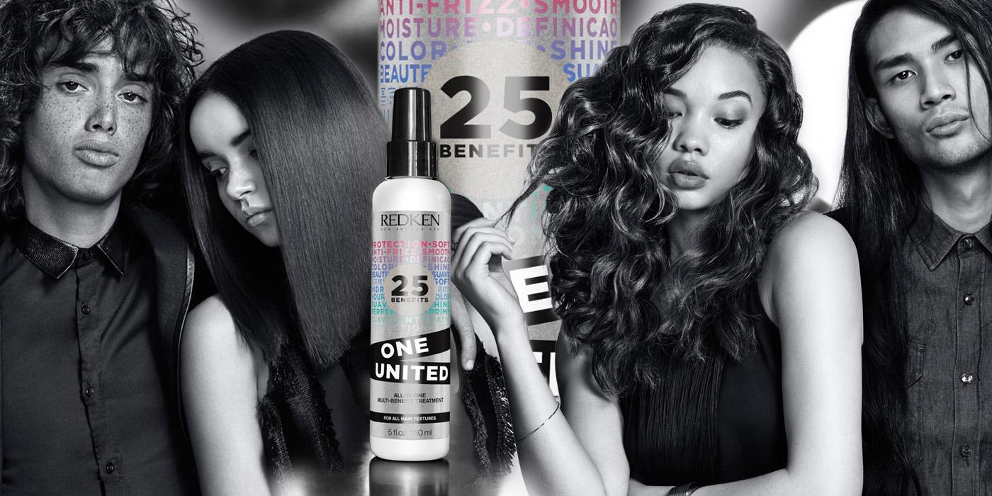 Může jeden produkt obsahovat 25 benefitů pro naše vlasy? Redken tvrdí, že nový One United je skutečně zázrak 25 v 1!