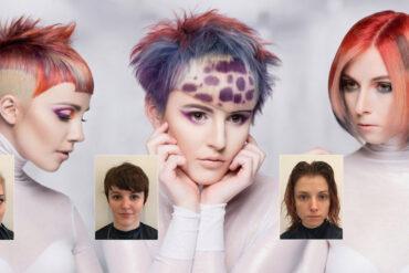 Proměny barvy vlasů vás změní k nepoznání. (Účesy na obrázku: Dallan Flint, NAHA 2015 – Haircolor)