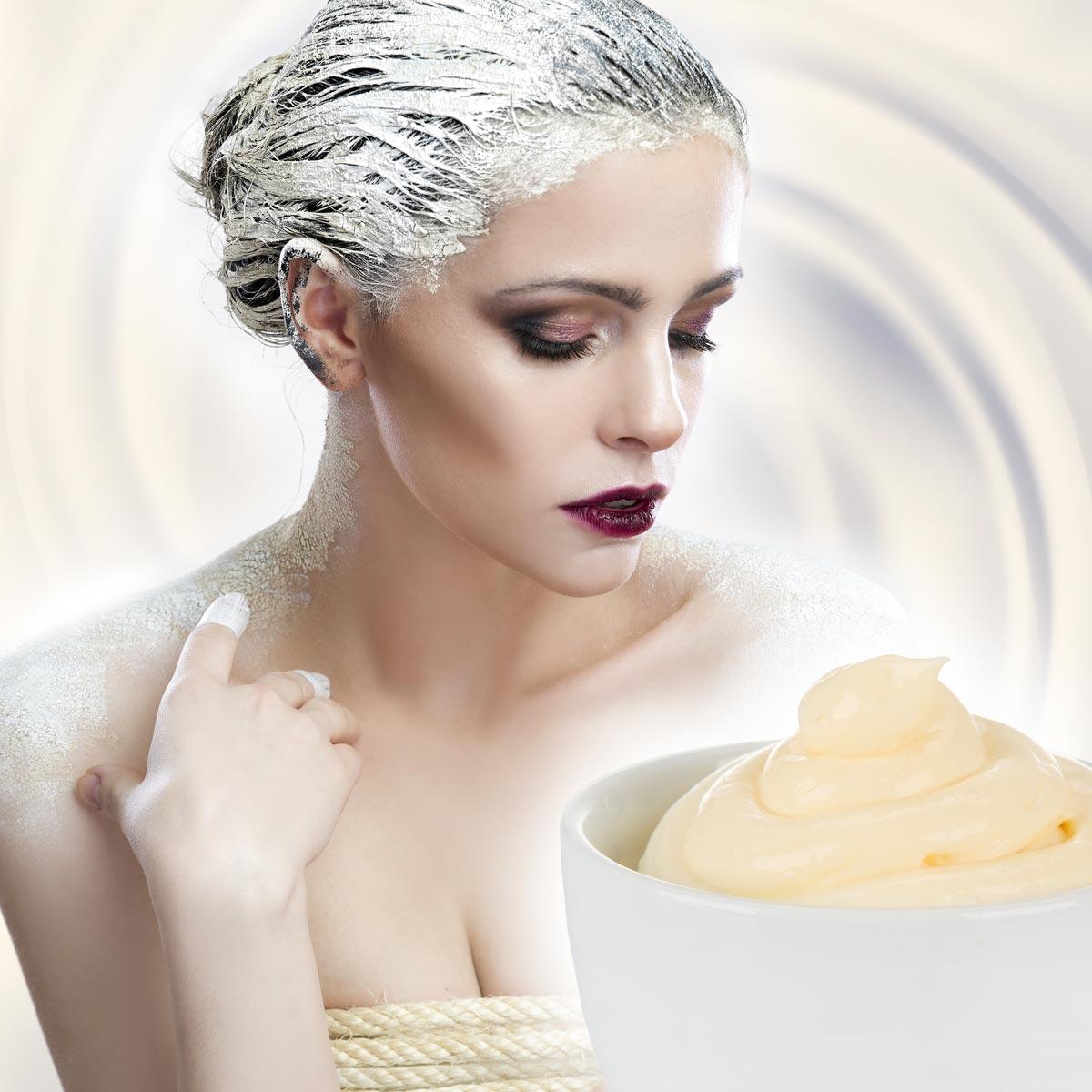 Vyrobte si vlastní přírodní kondicionér na vlasy. Možná vás překvapí, že jím je zcela obyčejná domácí majonéza.