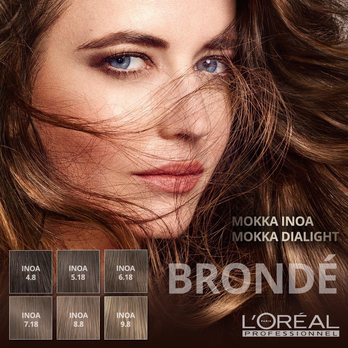 Fenomenální technika melírování na pomezí blond a hnědé barvy vlasů má teď nové módní odstíny: mokka. Inspiraci jim dala mocca káva.